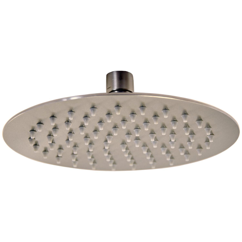 Regen brause edelstahl regendusche duschkopf kopfbrause brausekopf dusche rund ebay - Quadratische edelstahl designer duschkopf ...
