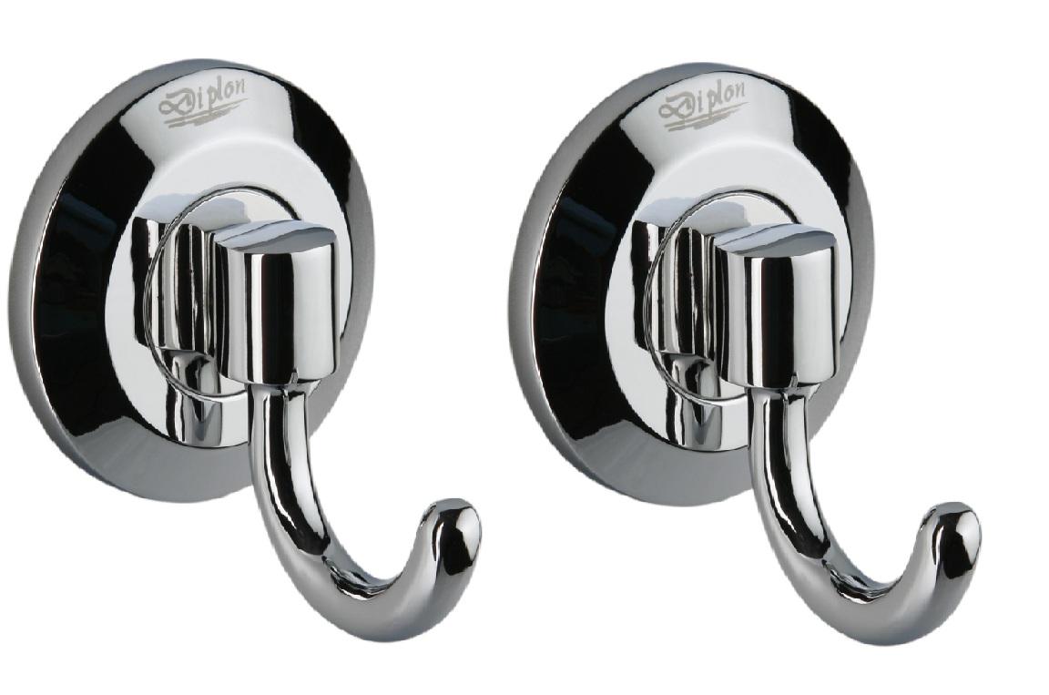 Ganci asciugamano set di 2 porta da parete accessori bagno for Ganci bagno design