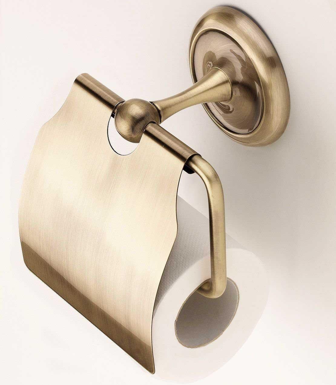 Accesorio Baño Antiguo:Accesorios de baño de latón antiguo de cobre amarillo vieja Aseo