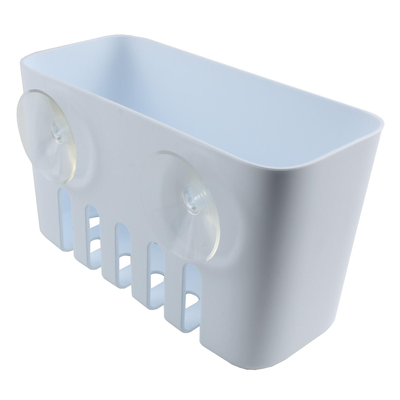 duschkorb duschregal universal ablage ohne bohren mit. Black Bedroom Furniture Sets. Home Design Ideas