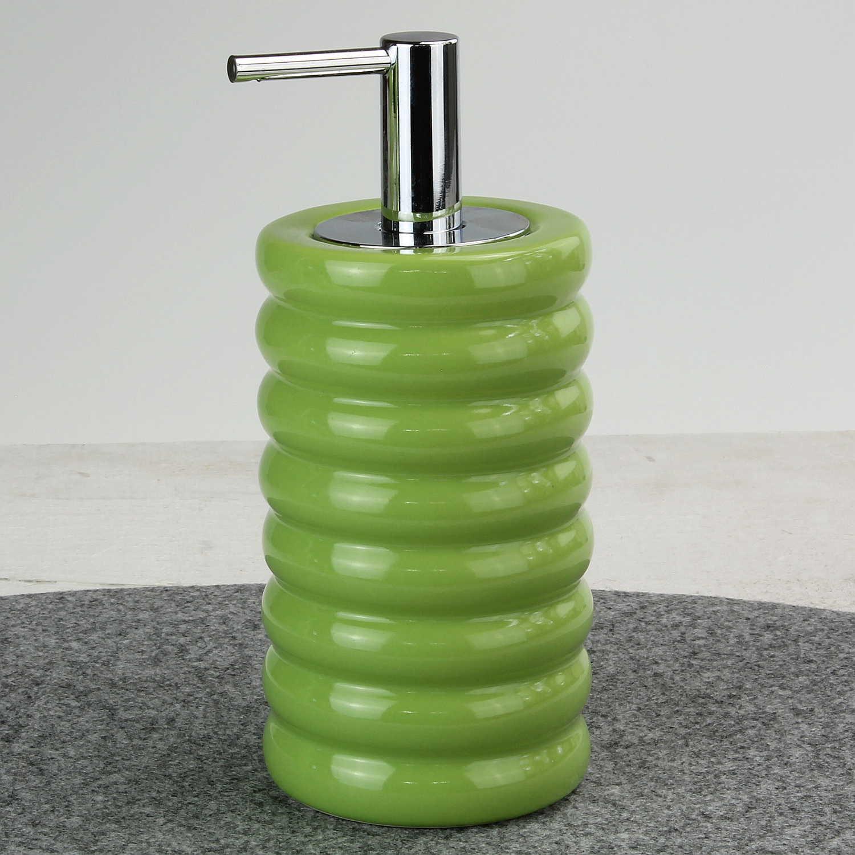 Details zu Badset Keramik grün von KLEINE WOLKE Badzubehör Badaccessoires  Badezimmer Set
