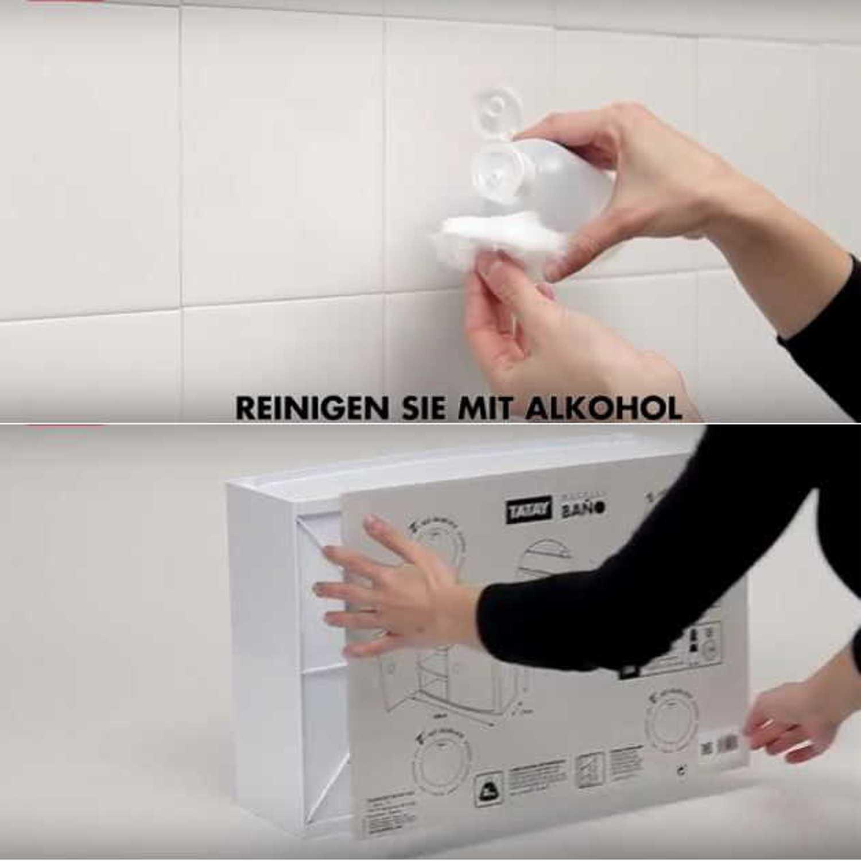 Badezimmer Regal Ohne Bohren  Jtleighcom  Hausgestaltung Ideen