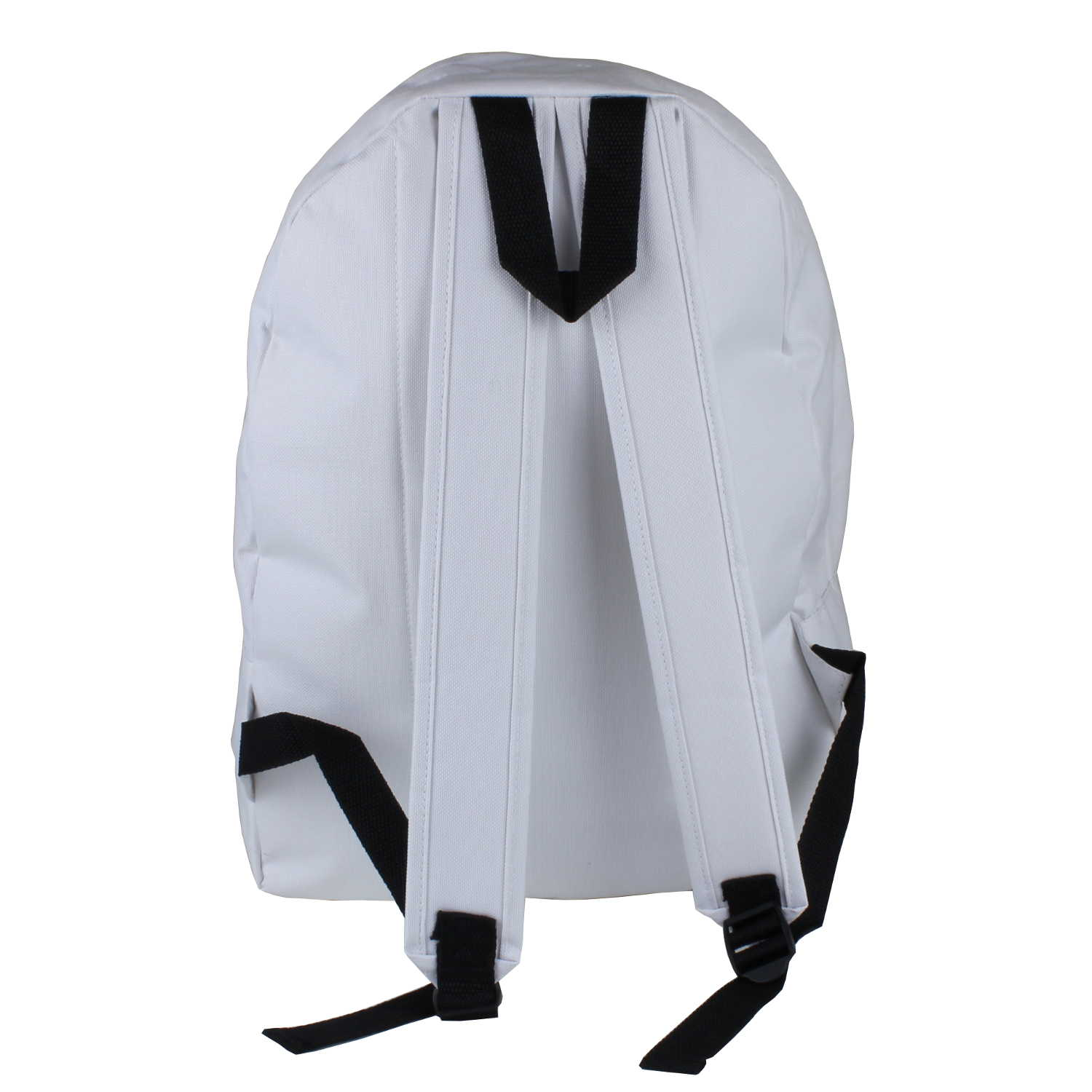 restposten 15x rucksack daypack wei schwarz black white freizeit tasche ebay. Black Bedroom Furniture Sets. Home Design Ideas