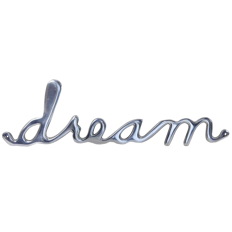 Deko Schriftzug Dream Wandverzierung Wanddeko Wand Bild Buchstaben