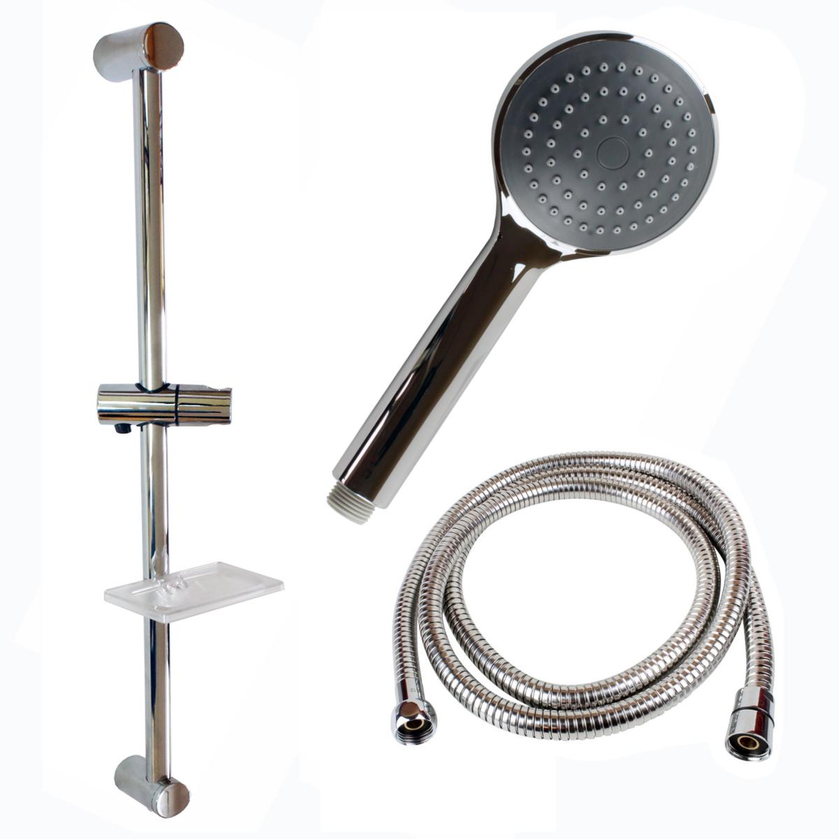 Dusche Brausehalter : -Stange mit Brausehalter und Seifenschale Handbrause Dusche eBay